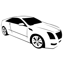 Cadillac Coupe Vector