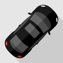 Car top view