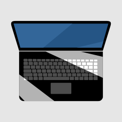 Laptop Flat Icon