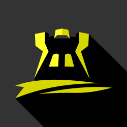 Castle tower icon