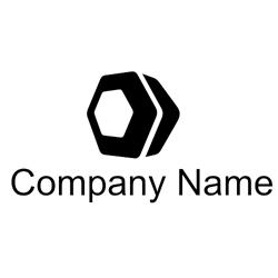 Hexagon logo vector