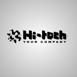 Hi-Tech logo vector