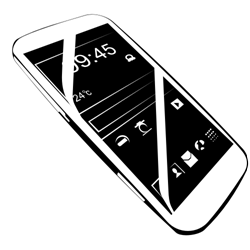 Сell phone vector