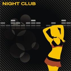 Night club vector