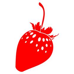 Strawberry free vector