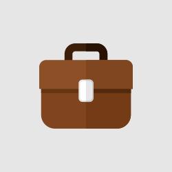 Briefcase vector