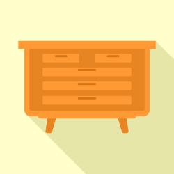 Drawer vector
