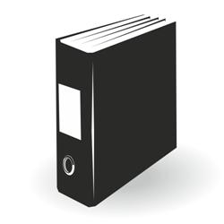 Vector office folder