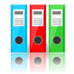 Vector folders
