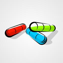 Capsule Pill vector