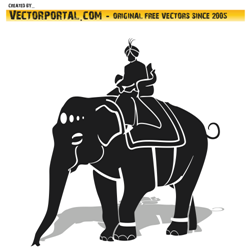 Maharaja vector