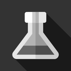 Laboratory Flask Vector