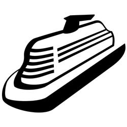 Vector Cruise Ship